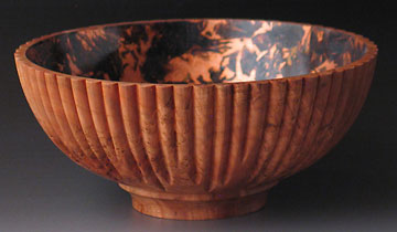 Flower wood turning by Paul Petrie