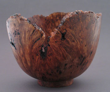 unknown burl wood turning